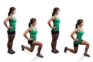 Lunges Relieve Hip Pain